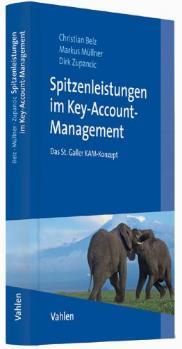 """Cover des Buches """"Spitzenleistungen im Key Account Management"""" von Dirk Zupancic, Christian Belz und Wolfgang F. Bußmann"""