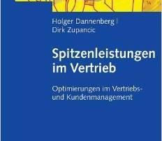 """Cover des Buches """"Spitzenleistungen im Vertrieb"""" von Holger Dannenberg und Dirk Zupancic"""