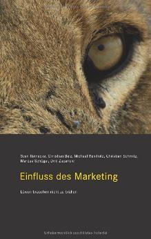 "Cover des Buches ""Einfluss des Marketing"""