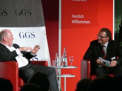 Dirk Zupancic Interviewbei GGS Veranstaltung